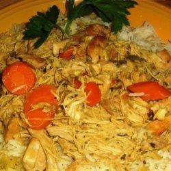 Spicy Marinated Chicken in Onion Sauce recipe