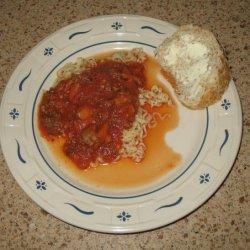 Kathy's Meaty Spaghetti Sauce recipe