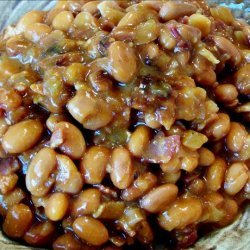 Spicy Maple Baked Beans recipe