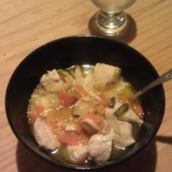 Braised Chicken With Chillies recipe