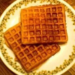 Whole Wheat Buttermilk Waffles recipe