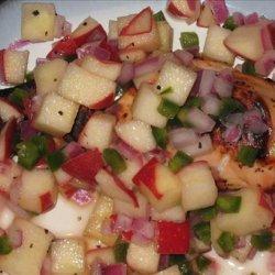 Apple Salsa With Chicken recipe