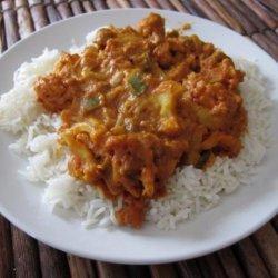 Butter Chicken (Or Cauliflower) With Cashews recipe