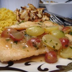 Nif's Chicken Cutlets With Grape Sauce recipe