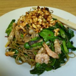 Pad Thai With Banana Flower recipe