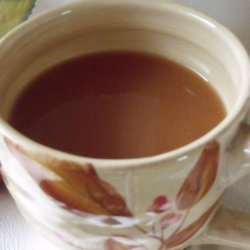Hot Cranberry Drink recipe