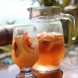 Gingery Peach Cooler recipe
