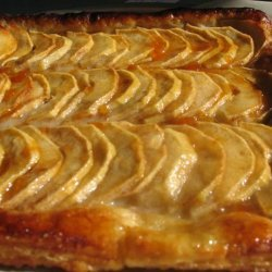 Apple Galette With Puff Pastry recipe