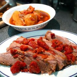 Brisket Pot Roast Style recipe