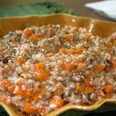 Sweet Potato and Pecan Risotto recipe