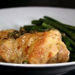 Sautéed Chicken Thighs With Lemon and Capers – Ww 5 recipe
