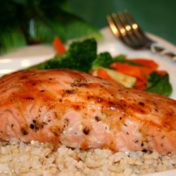 Roasted Salmon Fillets With Irish Whiskey recipe