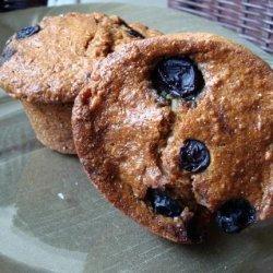 Whole Wheat Oat Blueberry Muffins recipe