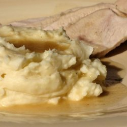 Slow-Roasted Turkey Breast With Gravy recipe