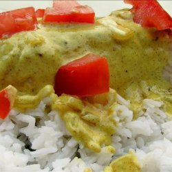 Chicken Breasts With Lime Curry Sauce recipe
