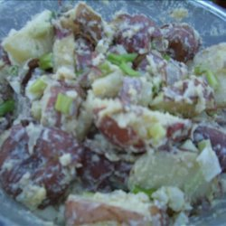 Potato Anchovy Salad recipe