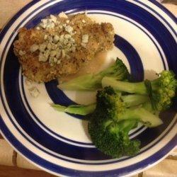 Hazelnut Chicken With Pear Sauce & Blue Cheese recipe