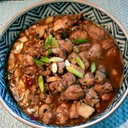 Stir Fried Chicken With Chilli Caramel Sauce recipe