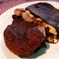 Grilled Sausage Sandwiches With Caramelized Onions and Gruyere C recipe