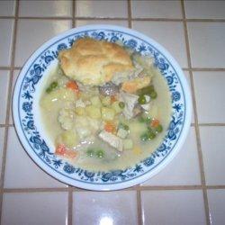 Chicken-Vegetable Pot Pie / Pies recipe