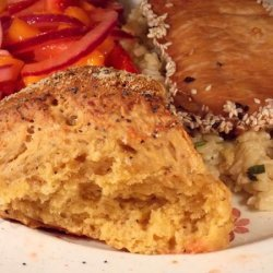 Cheese and Sage Damper recipe