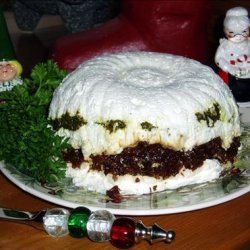 Cheesy, Garlic Tri Torte recipe