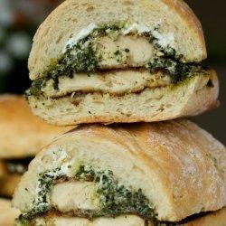 Chicken Pesto Sandwich recipe