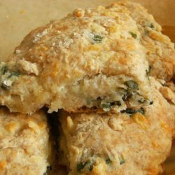 Cheese and Basil Giant Scones recipe
