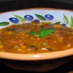 Curry Potato Lentil Soup recipe