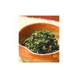Japanese Spinach with Sweet Sesame Seeds recipe