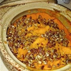 Orange-Ginger Sweet Potato Casserole recipe