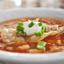 Chicken Tortilla Soup V recipe