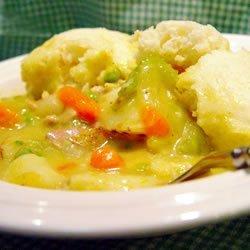 Irish Chicken and Dumplings recipe
