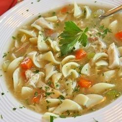 Grandma's Chicken Noodle Soup recipe