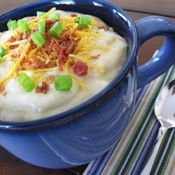 Baked Potato Soup V recipe
