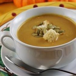 Curry Pumpkin Soup recipe