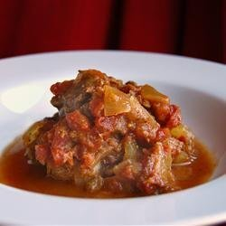 Spicy Beef Curry Stew for the Slow Cooker recipe