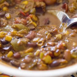 Veggie Vegetarian Chili recipe