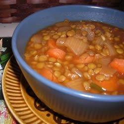 Lentil Soup III recipe