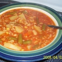 Quick and Easy Vegetable Soup recipe