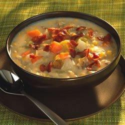 Gramma Brown's Corn Chowder recipe