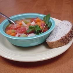 Tomato Barley Soup recipe