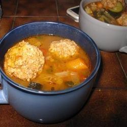 Albondigas Soup I recipe