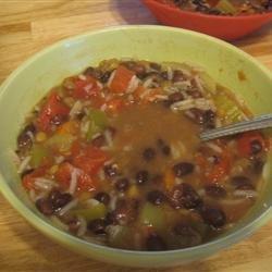 Beezie's Black Bean Soup recipe