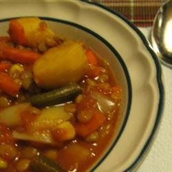 Argentine Lentil Stew recipe