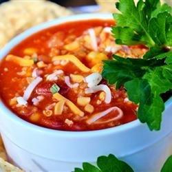 Becca's Taco Soup recipe