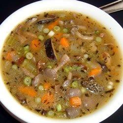 Mushroom Soup Without Cream recipe