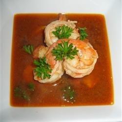 Killer Shrimp Soup recipe