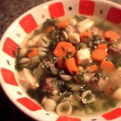 Party Italian Wedding Soup recipe