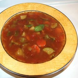 Quick Italian Vegetable Soup recipe